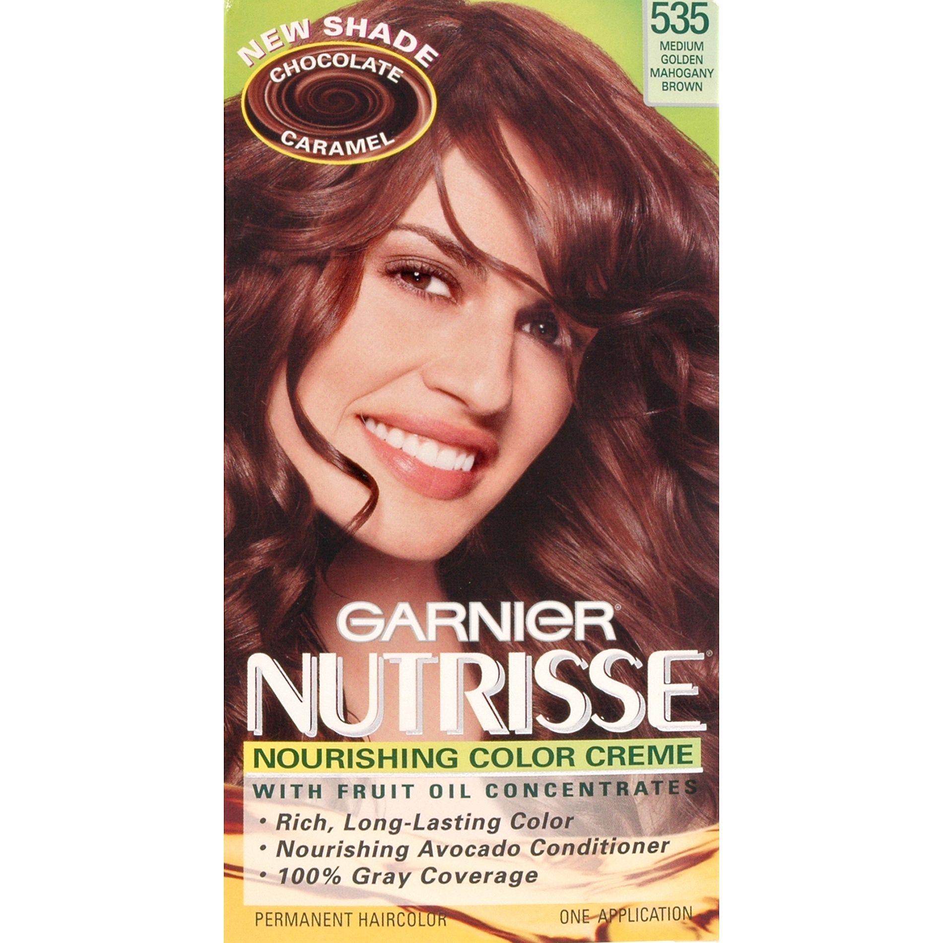 garnier permanent haircolor medium