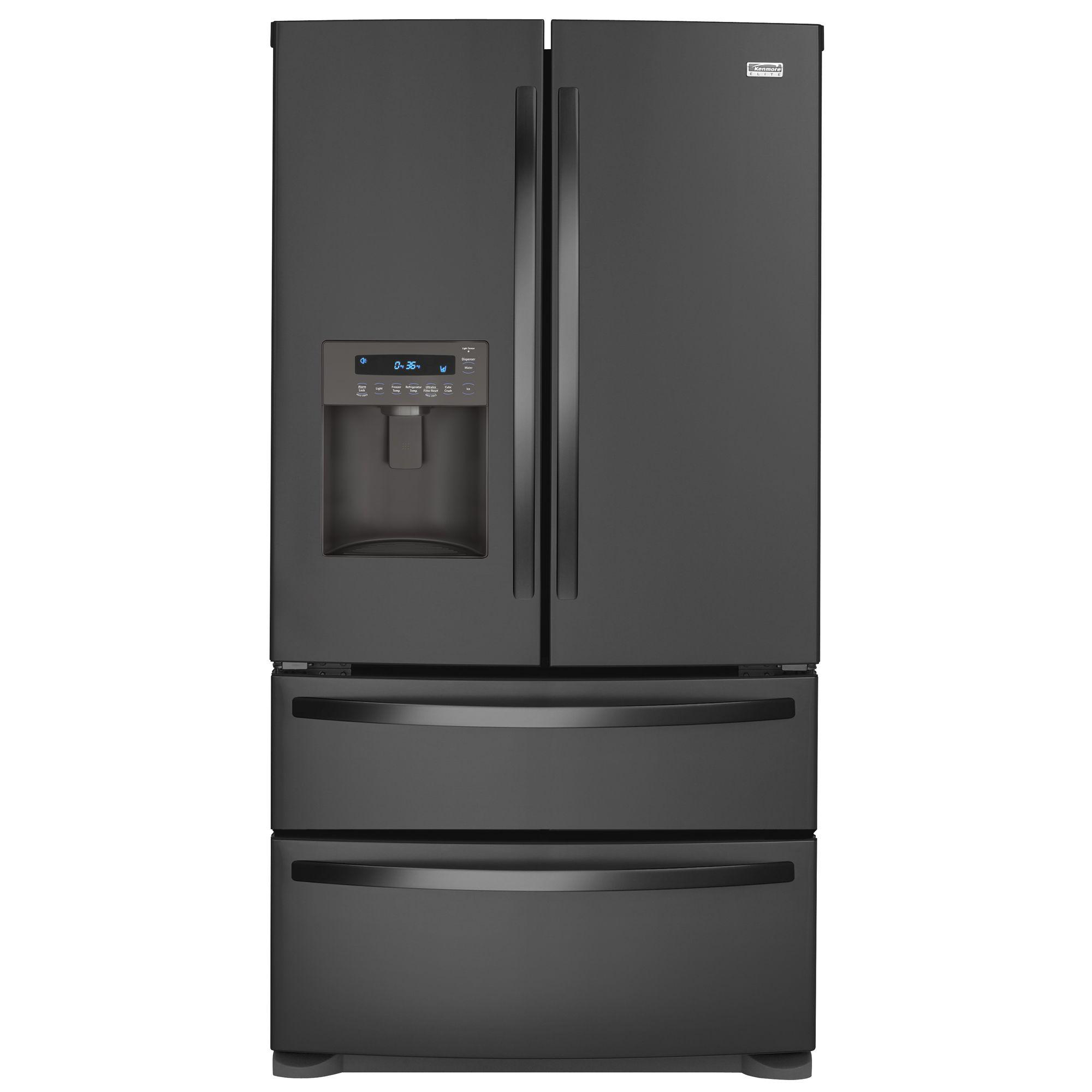 Kenmore Elite 27.5 Cu. Ft. French-door Bottom Freezer Refrigerator 7977 - Appliances