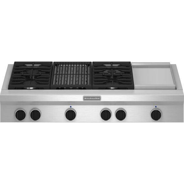 48 Gas Cooktop with Griddle