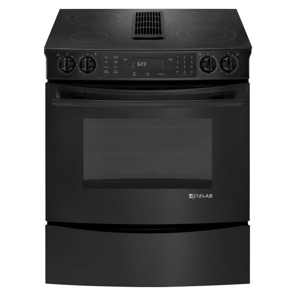 "Jenn-air 30"" Slide-in Electric Downdraft Range"