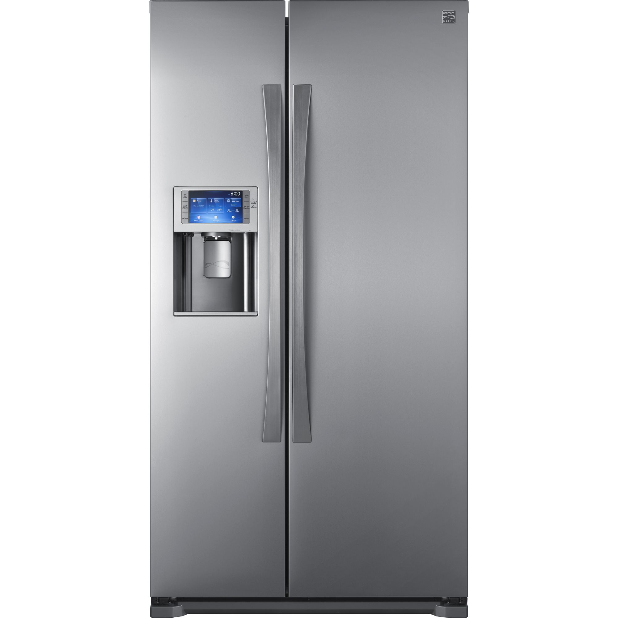 Kenmore Elite Refrigerator Side by Side