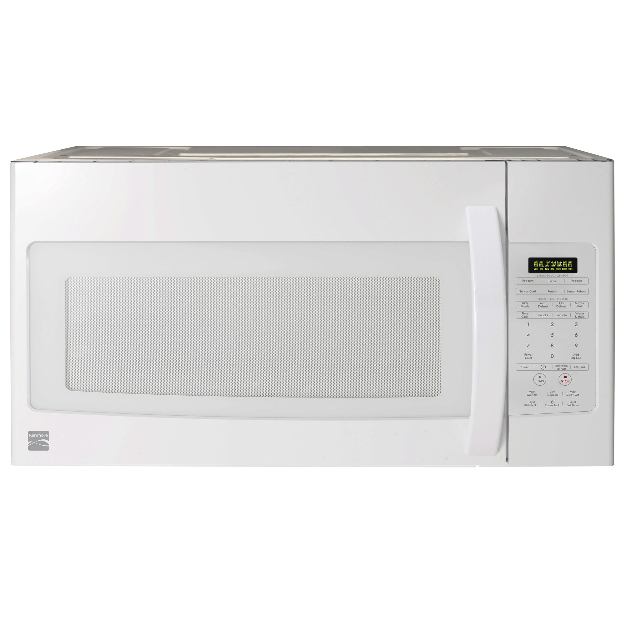 kenmore 85052 1 9 cu ft over the range microwave oven