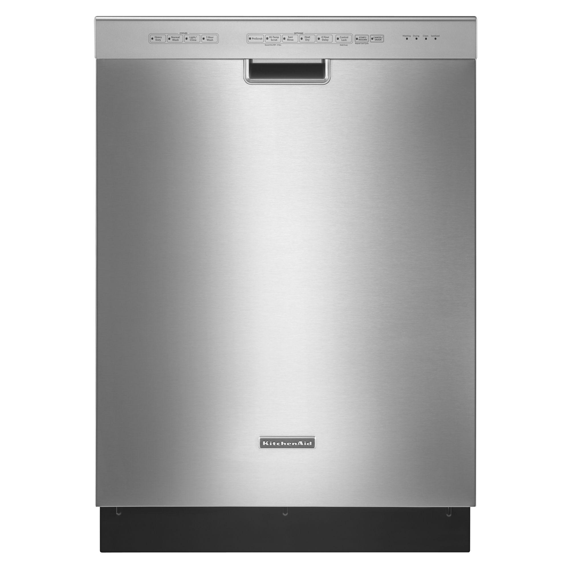 kitchen aid dishwasher repair home depot kraftmaid cabinets kitchenaid kuds30ixss 24 quot superba built in