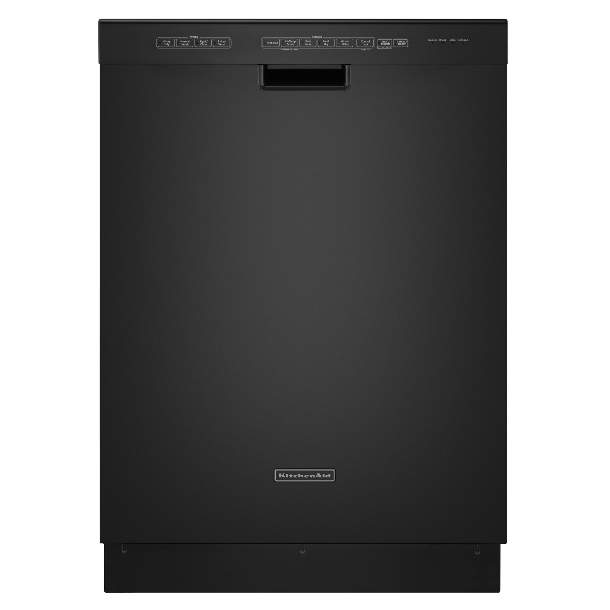 kitchen aide dishwasher island with cooktop kitchenaid kuds30ixbl superba 24 quot built in