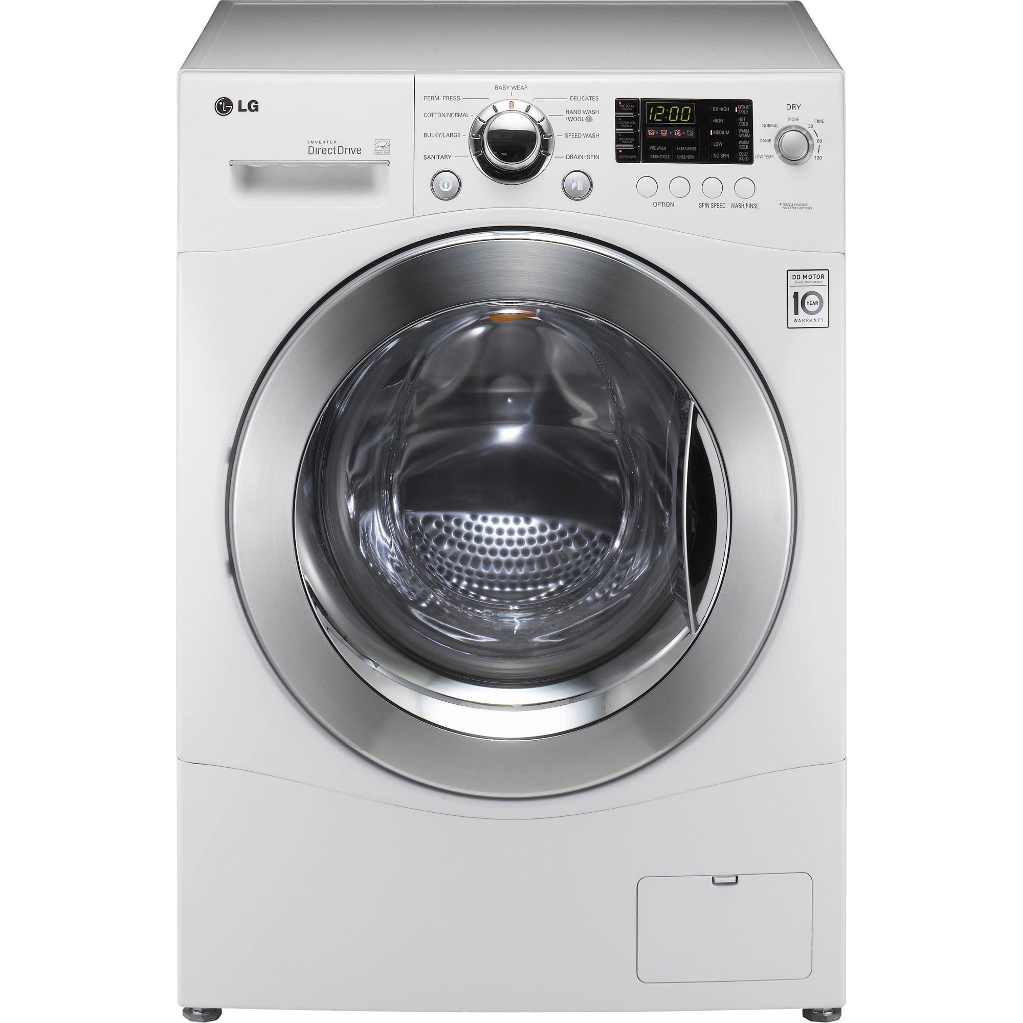 Lg Wm3455hw 2.3 Cu. Ft. -in- Washer And Dryer