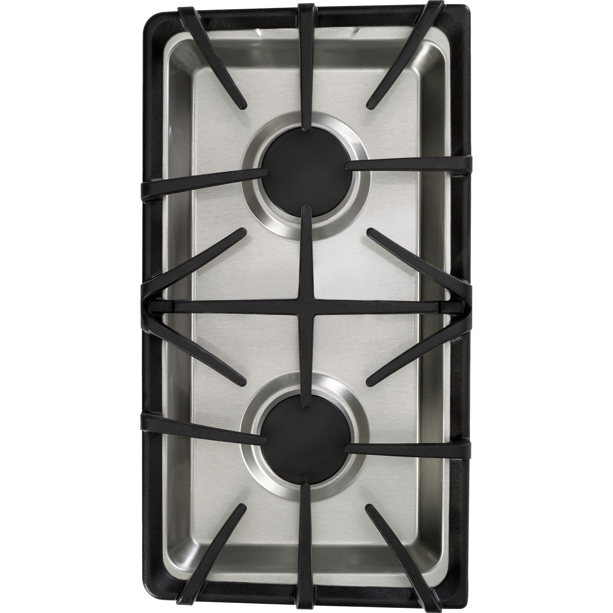 GE - JXGB90S - Gas Cooktop Two-Burner Module | Sears Outlet