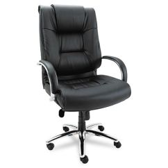 La Z Boy Big Tall Executive Leather Office Chair Black High Back Mesh With Headrest Comfy Chairs