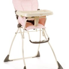 How To Fold Up A Cosco High Chair Dining Room Chairs Upholstered With Arms Flat Hannah