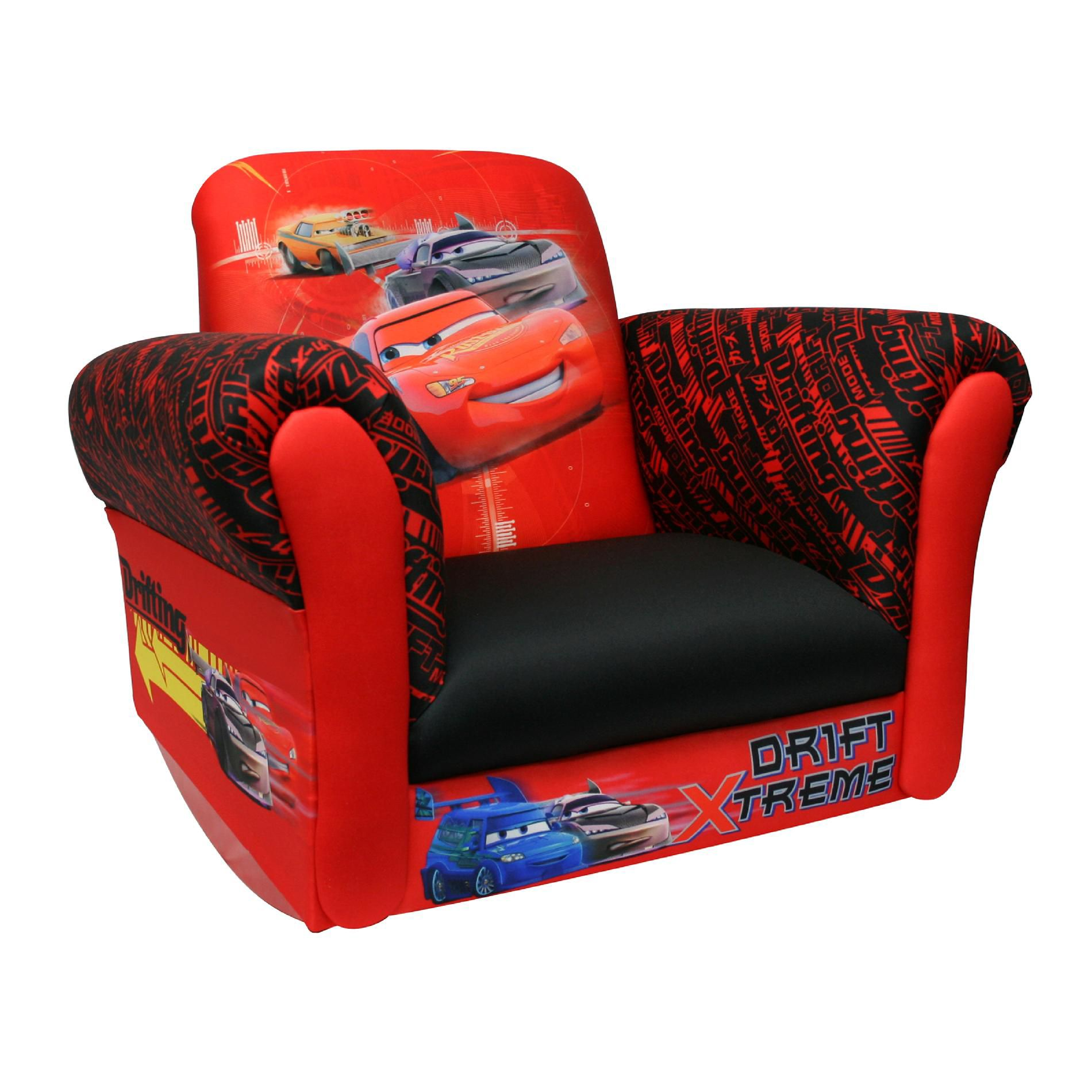 cars sofa chair bags delta children disney deluxe rocking baby