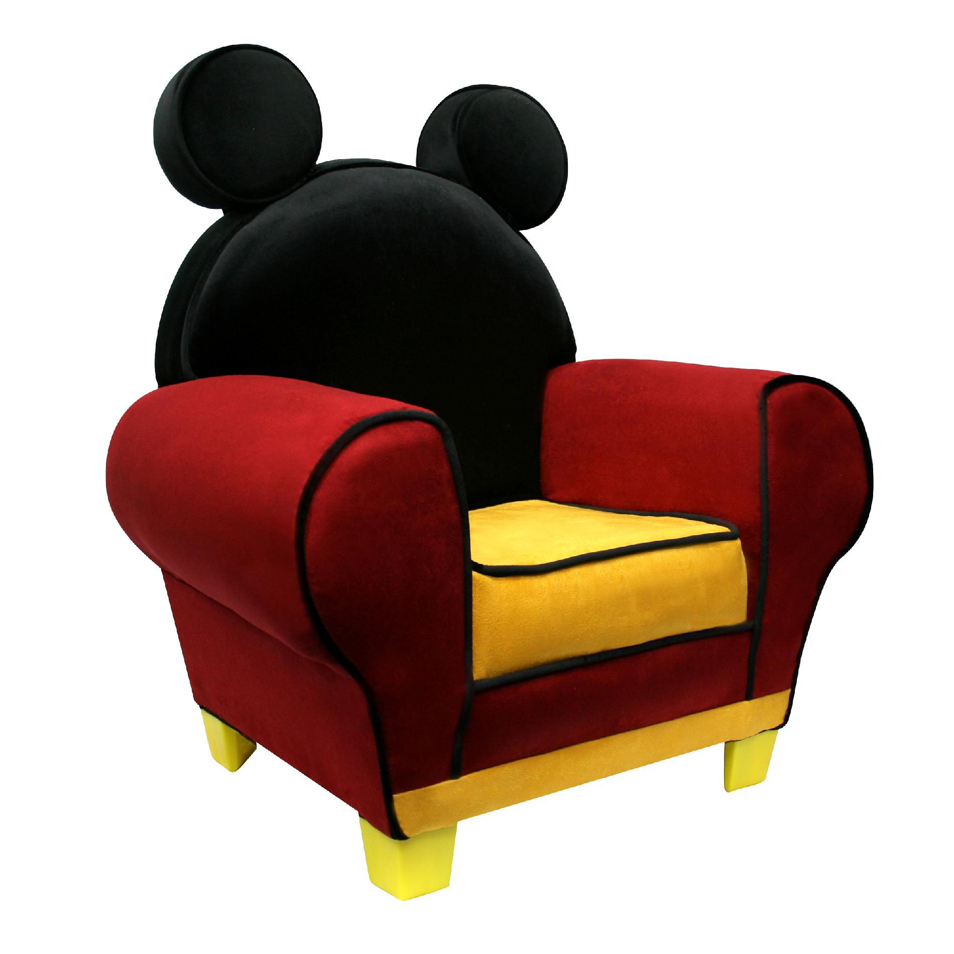 minnie mouse recliner chair rent tent and chairs delta children disney mickey upholstered