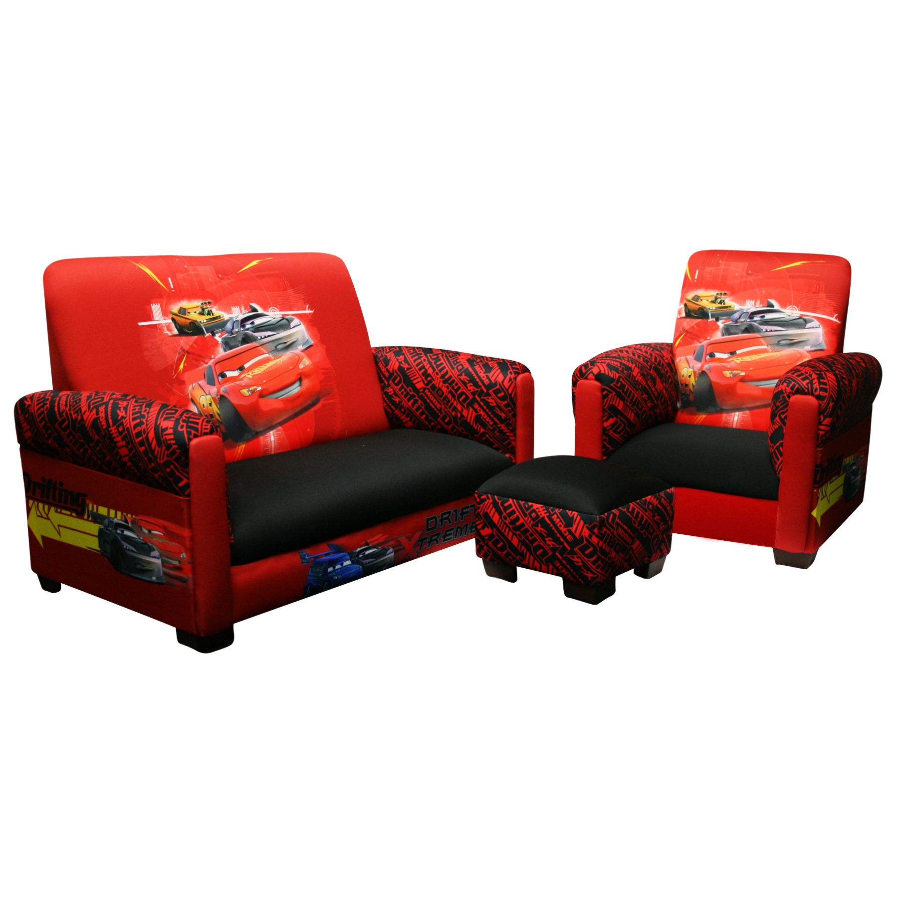 cars sofa chair modern compact sectional delta children disney toddler and
