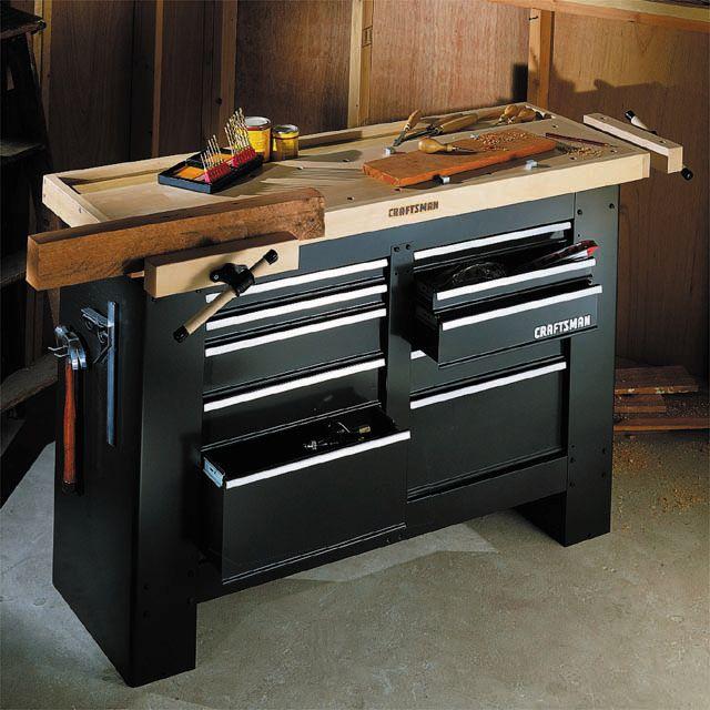 Craftsman Garage Workbench