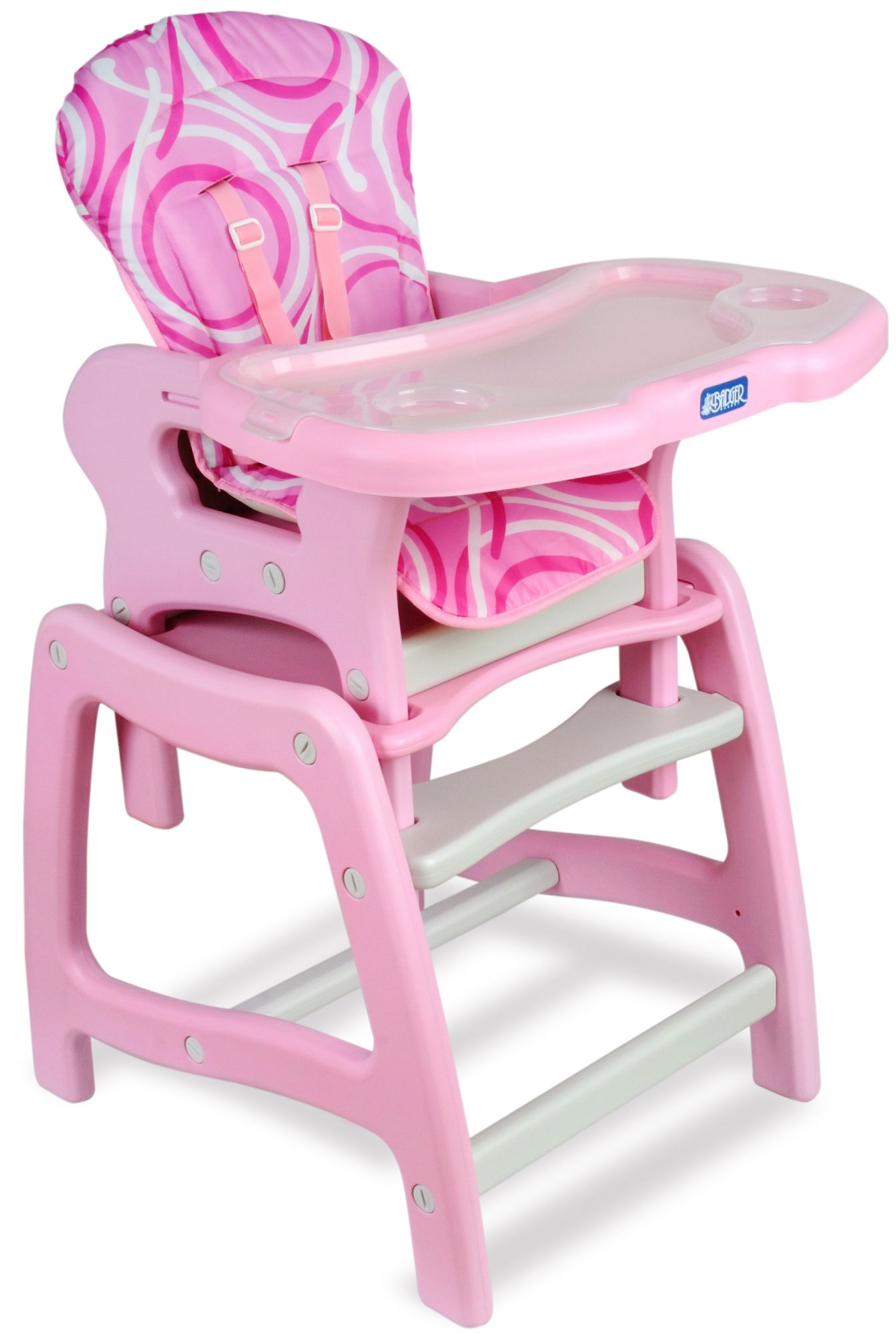high chair basket kartell ghost badger envee baby with playtable