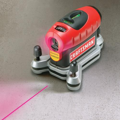 Craftsman 4 In 1 Laser Level Measuring Combo Kit