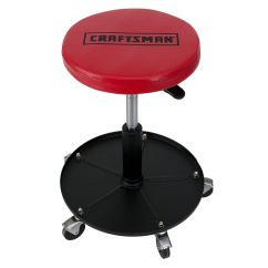 Garage Chair With Wheels That Will Stand You Up Craftsman Adjustable Mechanics Seat