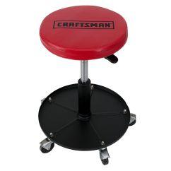 Garage Chairs Rolling Kohls Chair Pads Craftsman Adjustable Mechanics Seat