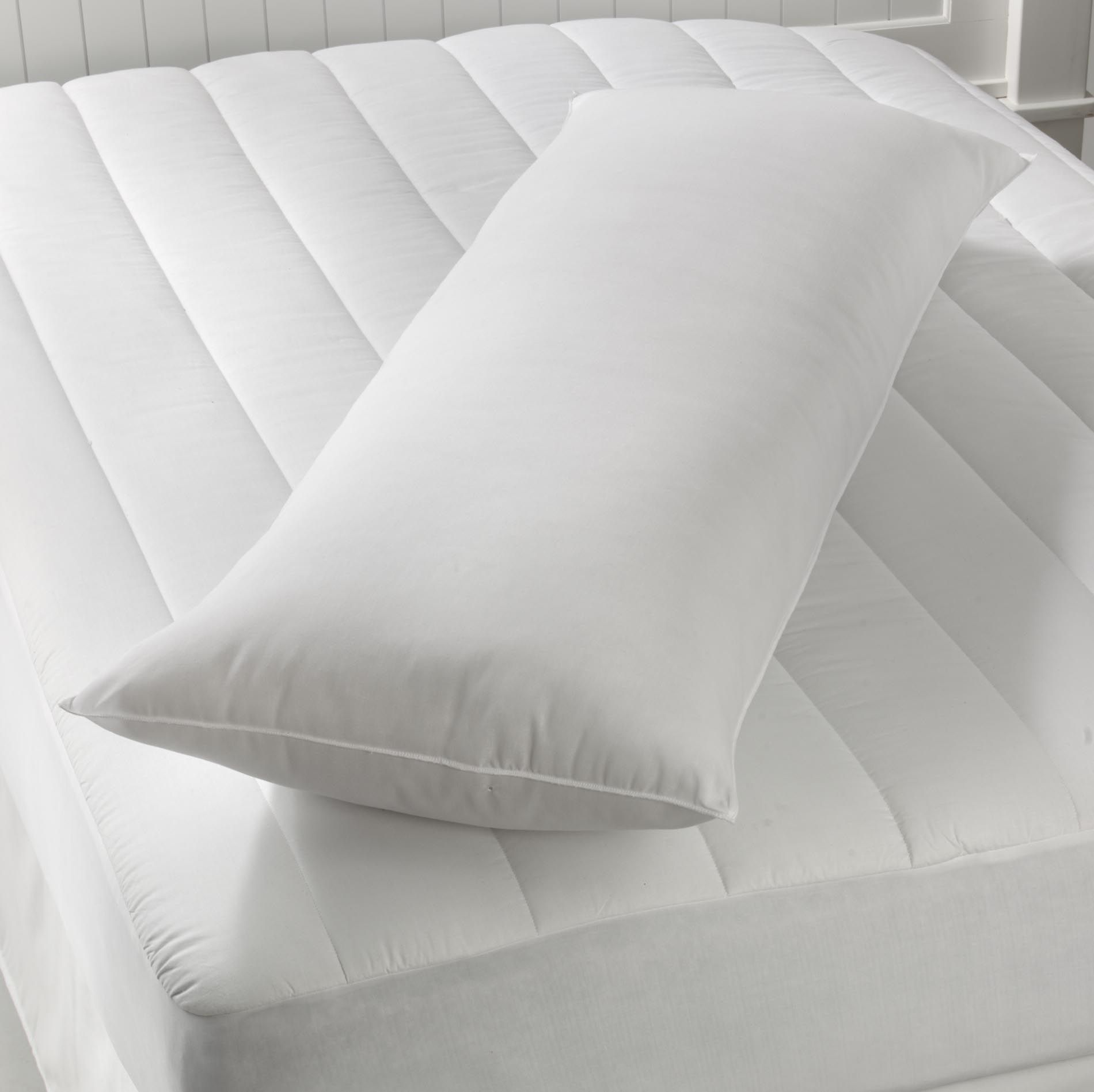 Colormate Body Pillow  White