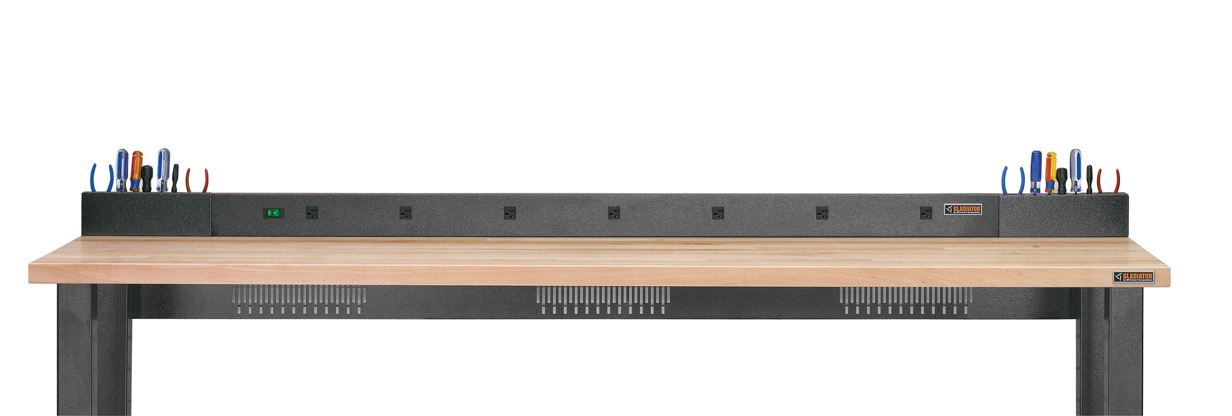 Gladiator 6 Ft To 8 Ft 9 Outlet Workbench Power Strip