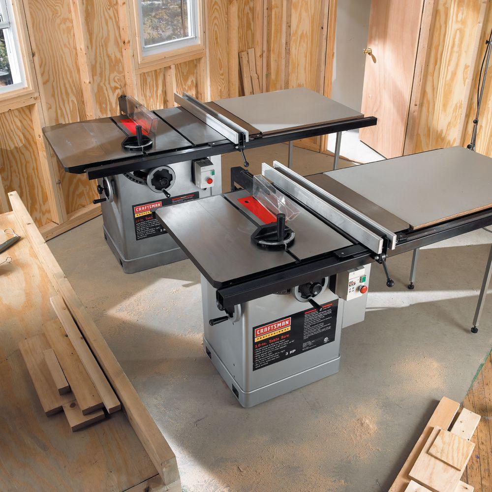 Craftsman 3 Hp Table Saw Motor