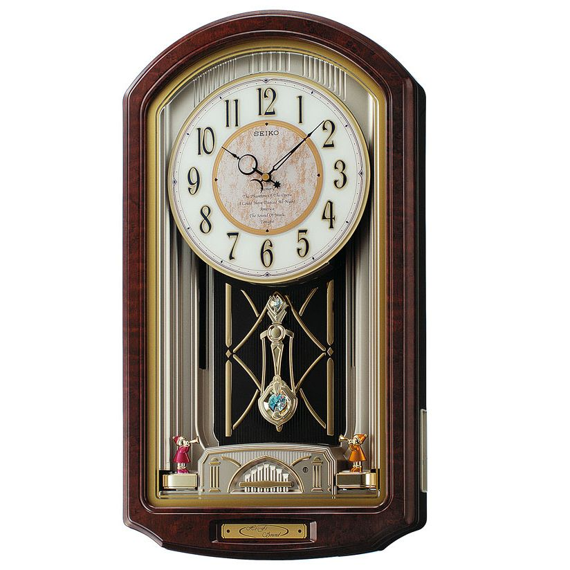 Seiko Melodies In Motion 6 Melody Wall Clock - Phantom Of