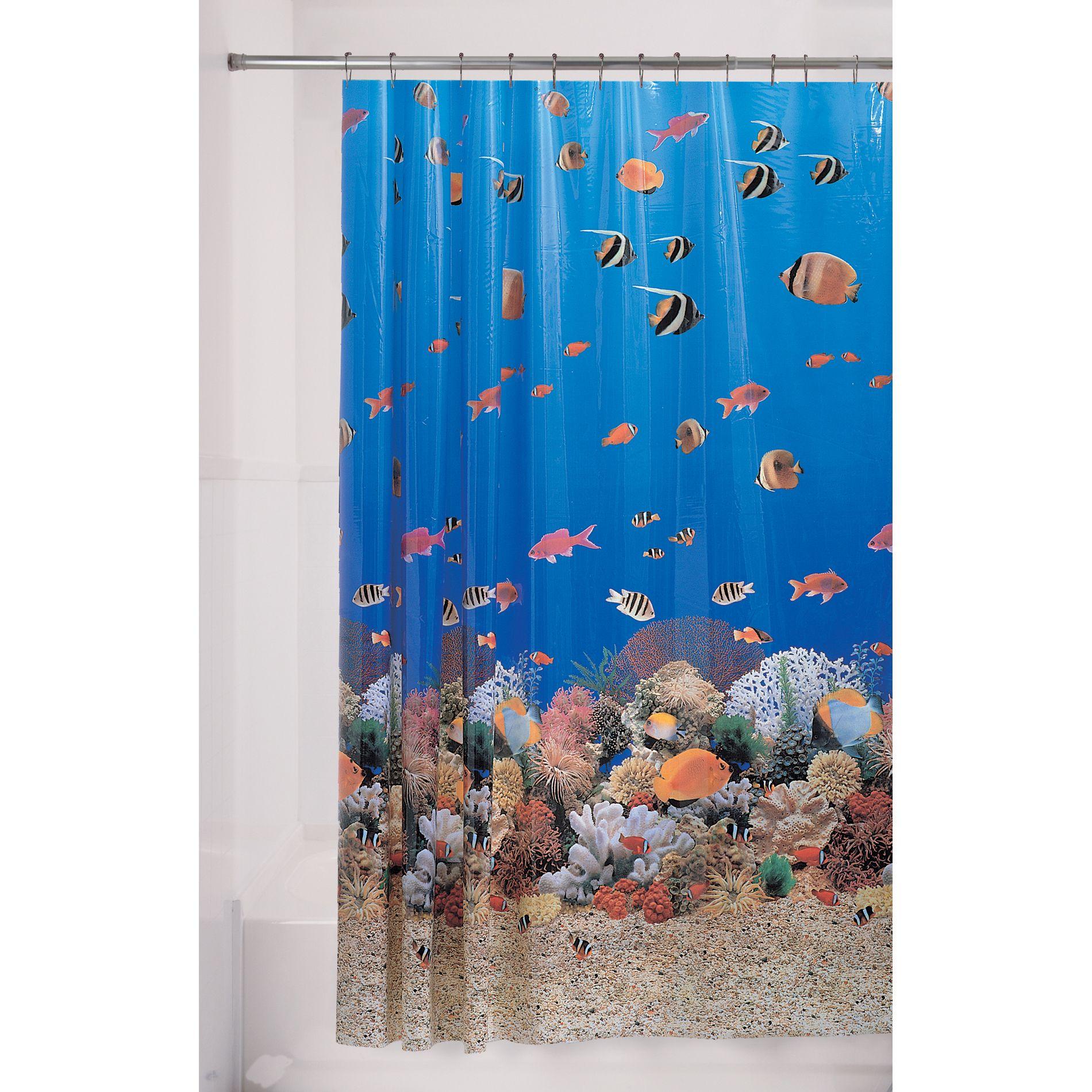 Essential Home Shower Curtain Cozumel Vinyl