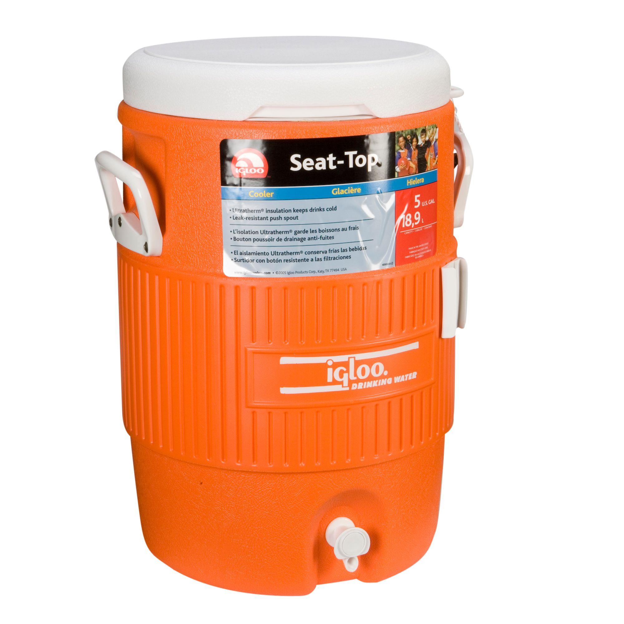 Igloo 5 Gallon Seat Top Cooler