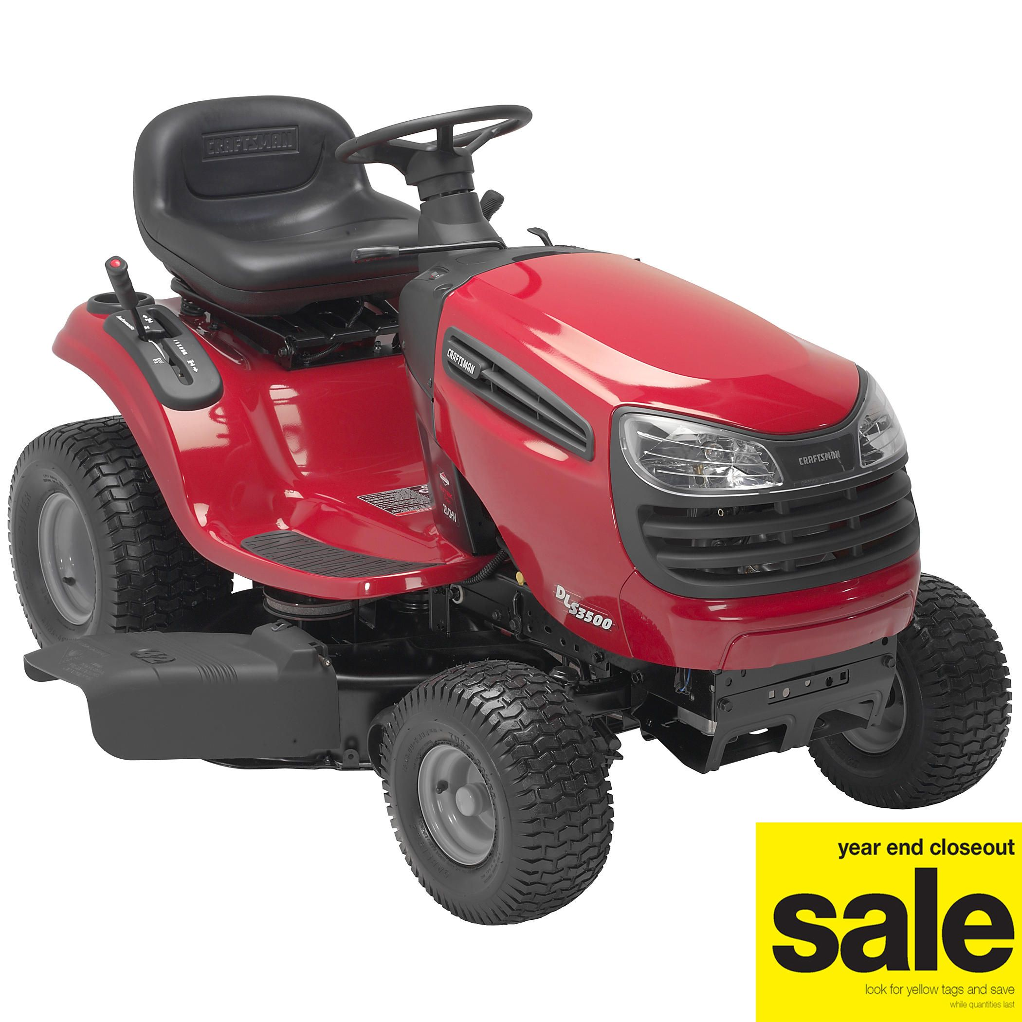 Craftsman 20 Hp 42 In. Deck Dls 3500 Lawn Tractor - & Garden Riding Mowers Tractors
