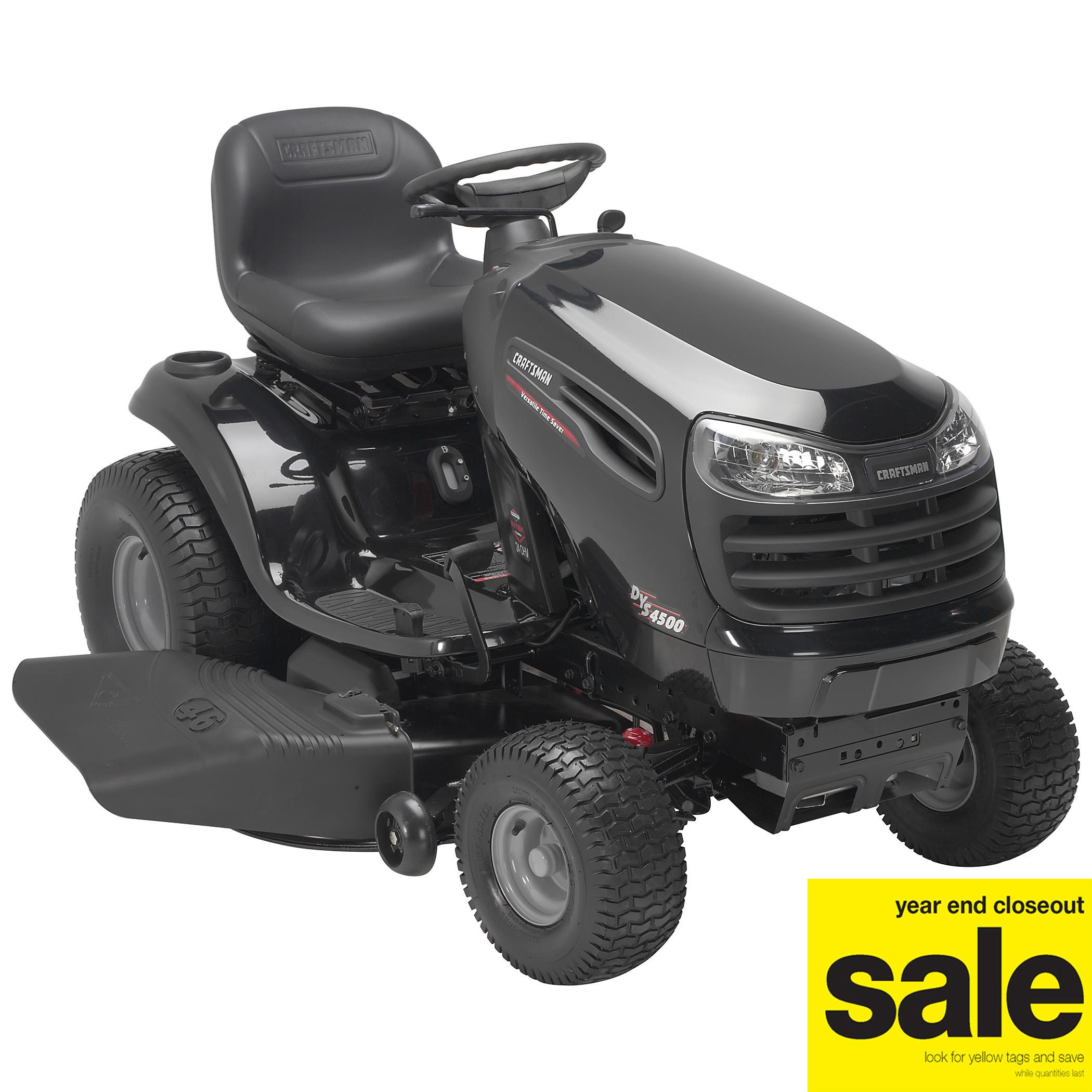 medium resolution of deck dys 4500 lawn tractor