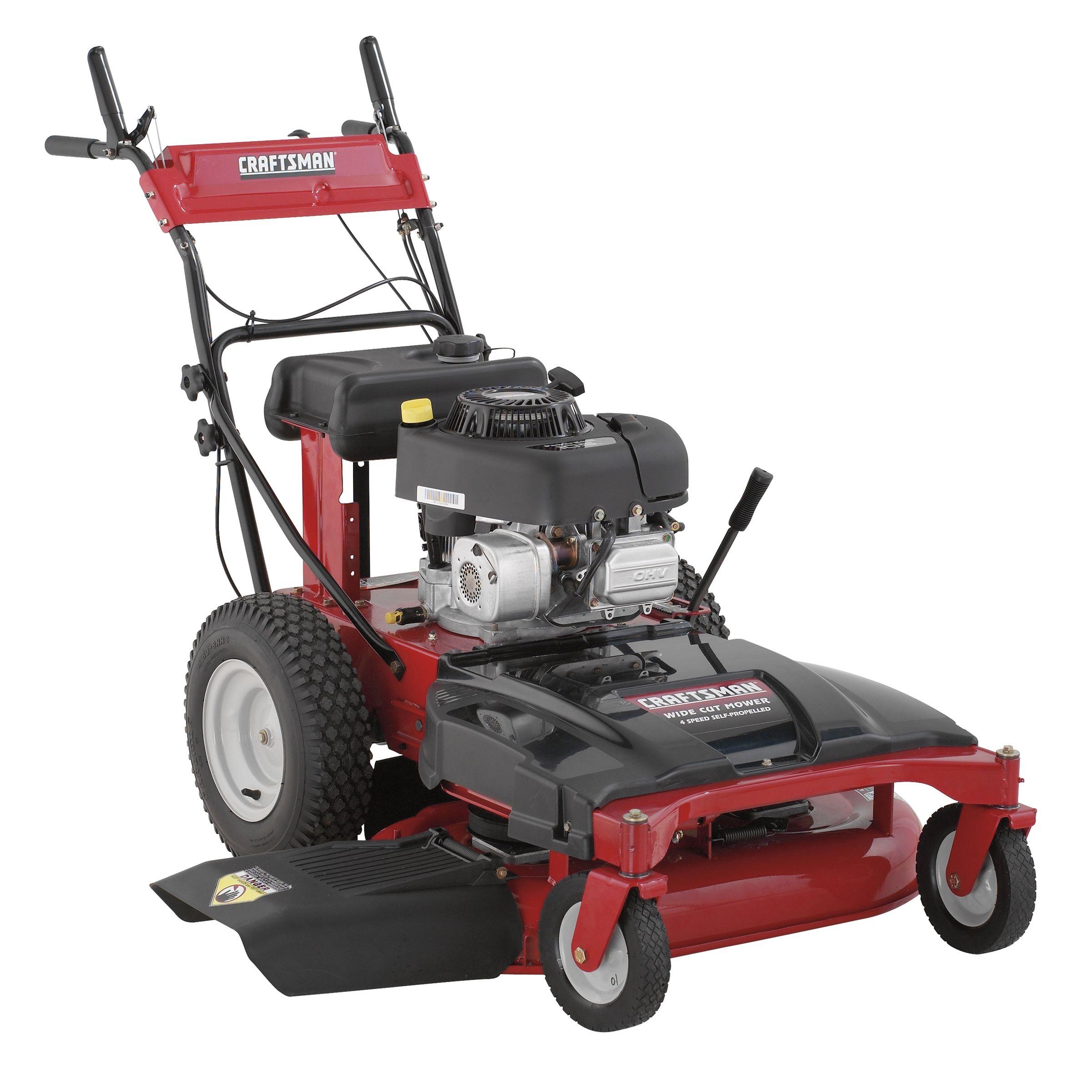 Craftsman 33 Wide Cut Mower