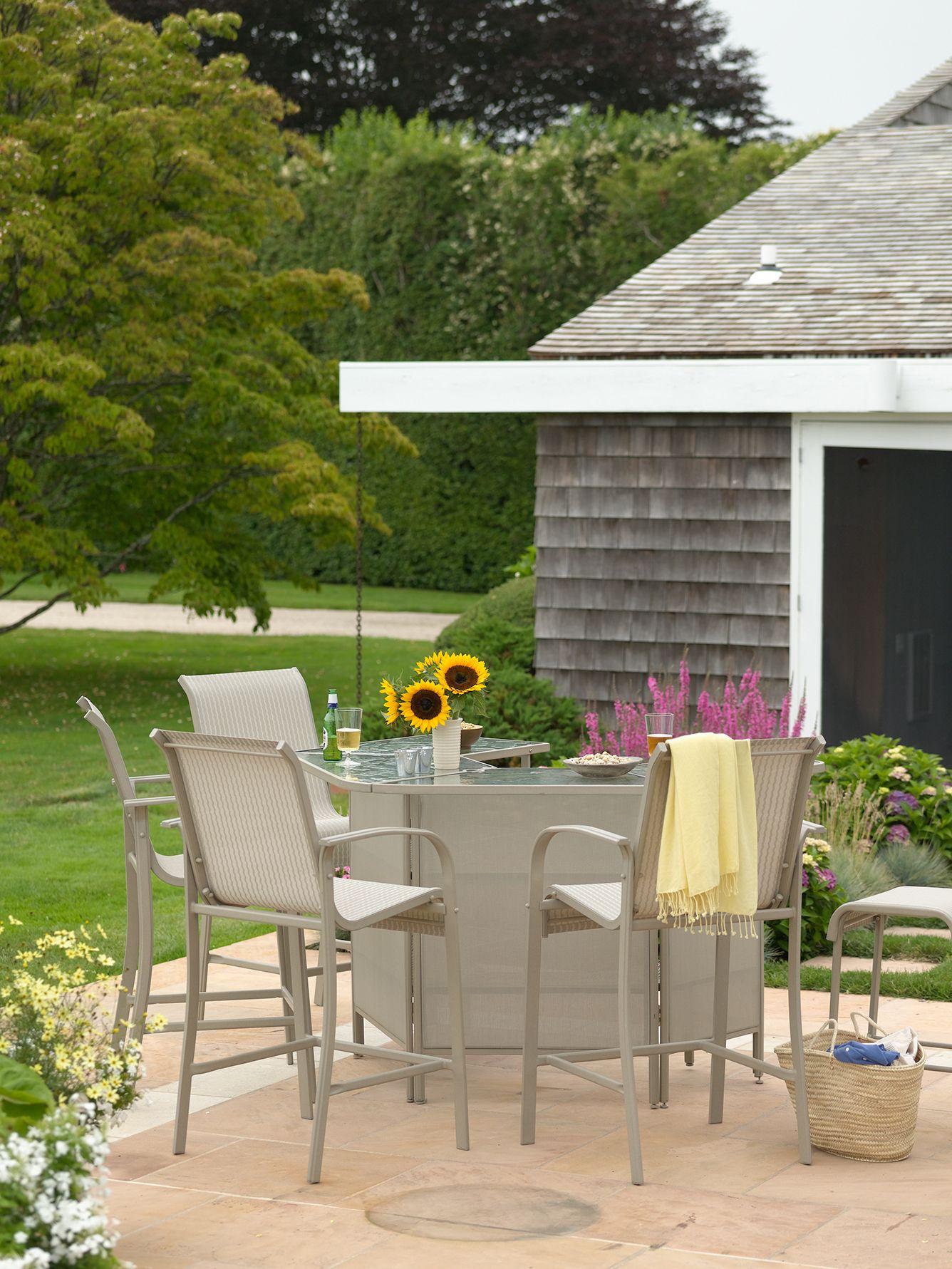 martha stewart patio chairs pallet wood chair instructions everyday garden melrose bar outdoor