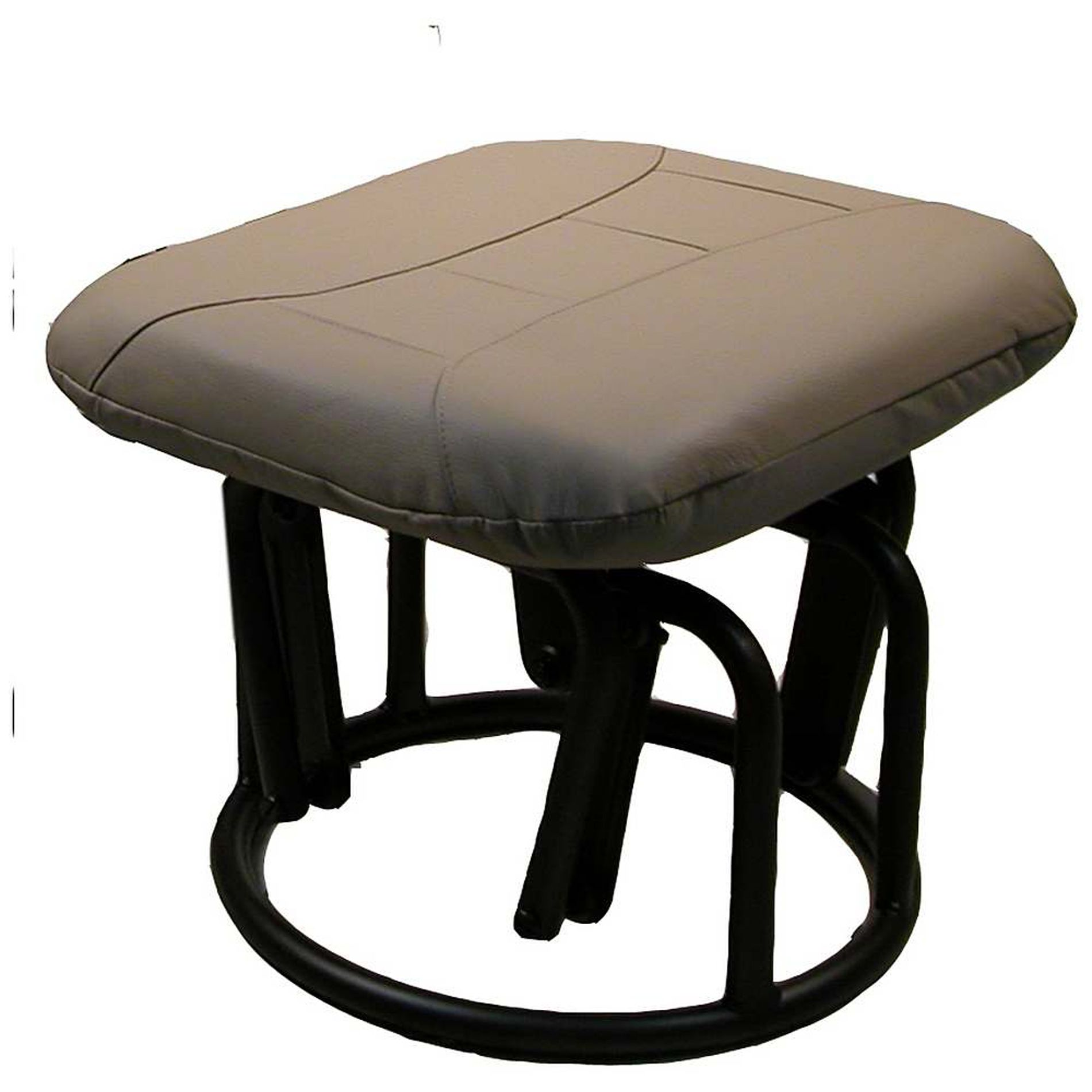 glider chair and ottoman canada wheelchair shower demare gliders rocker leather match cobblestone