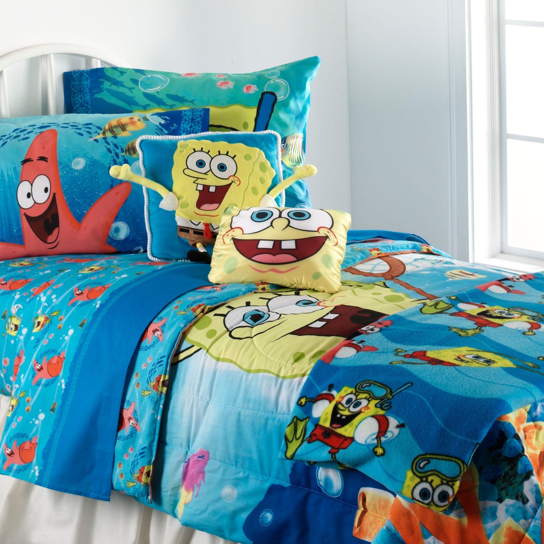Spongebob Squarepants Sheet Set - Home Bed & Bath