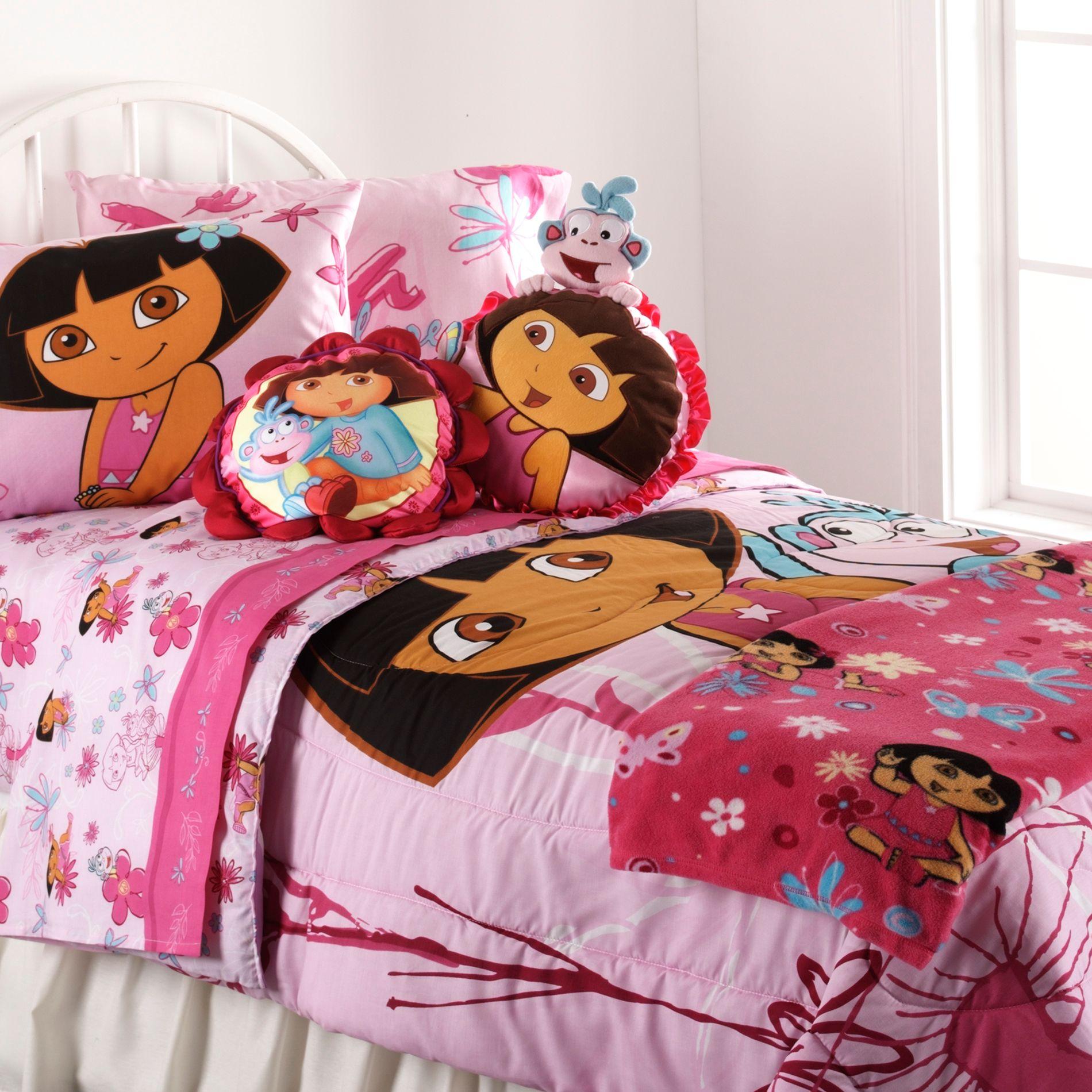 Dora Explorer Sheet Set