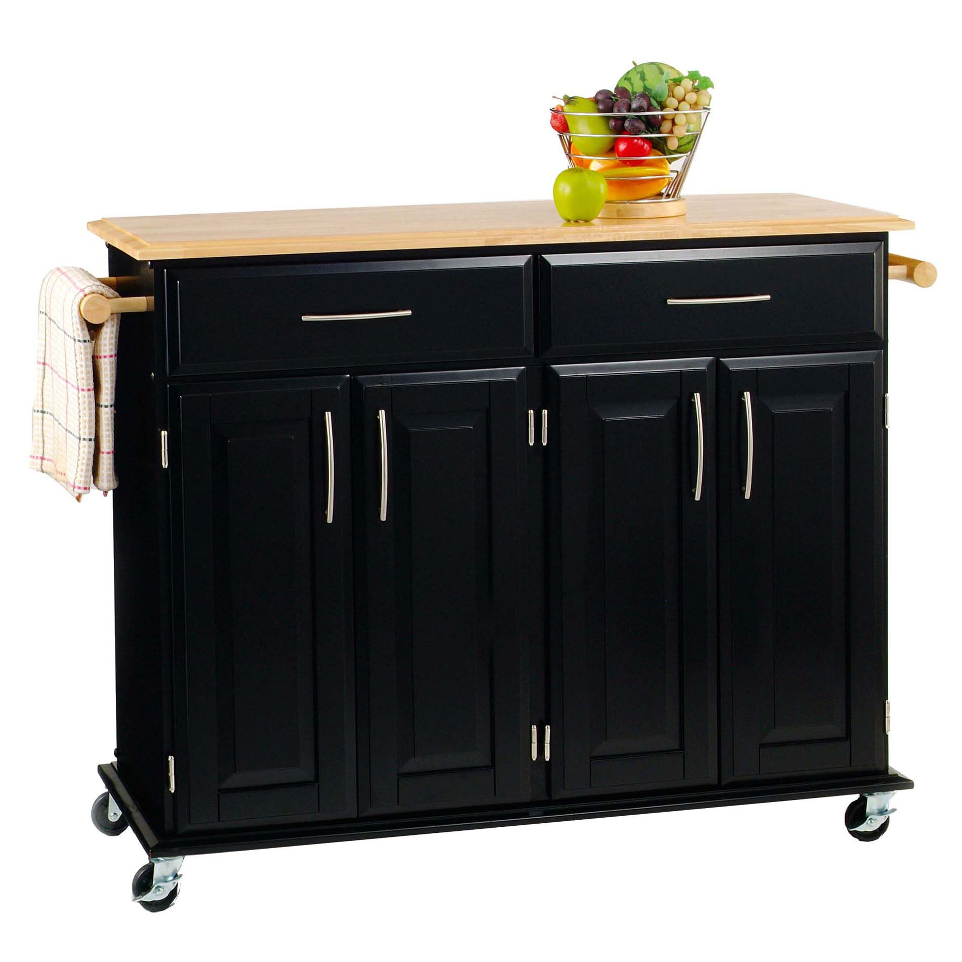 unfinished kitchen cart granite tables 3512h x 4814w 1814d solid wood top island