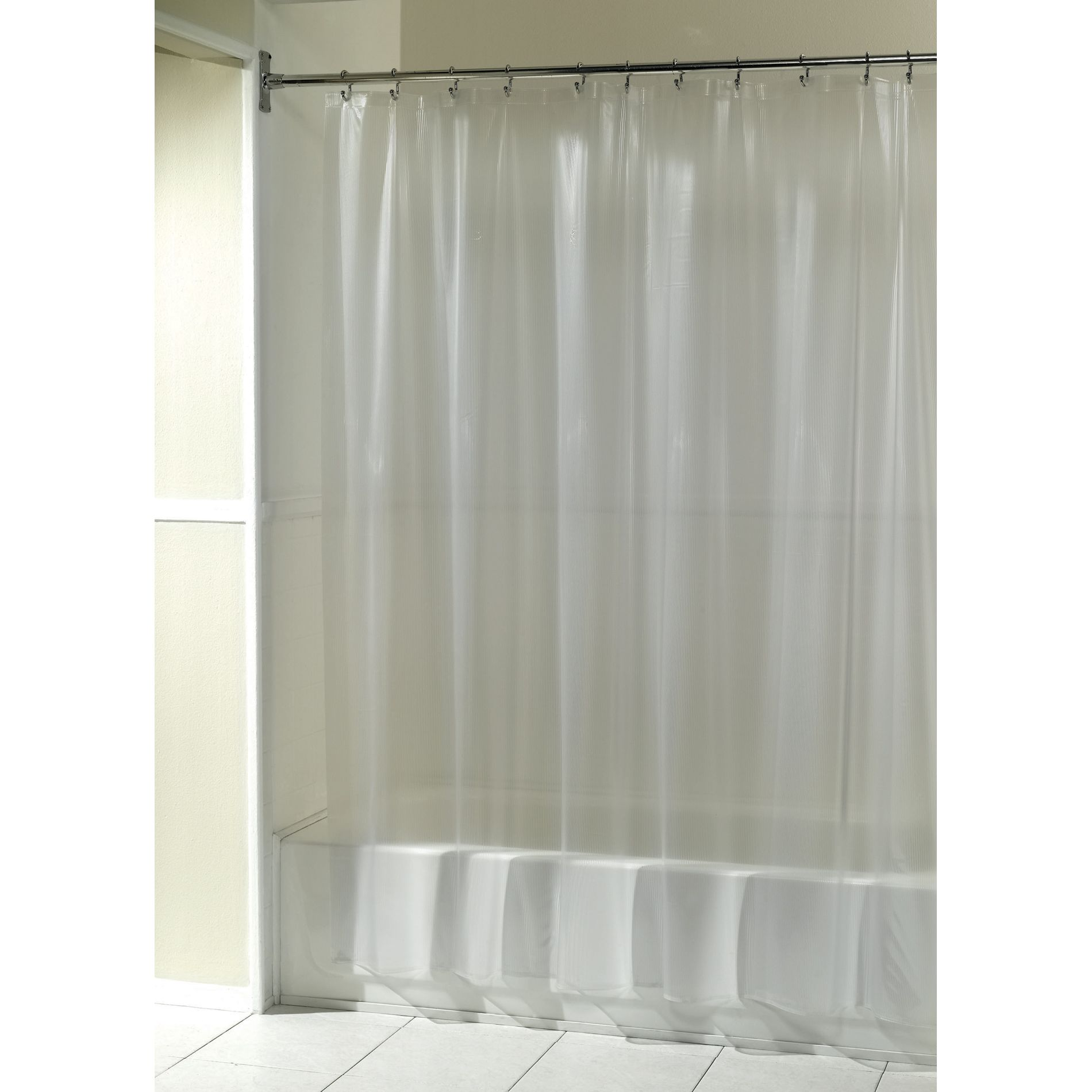 UPC 072000290224  Essential Home Shower Curtain Solid Rib