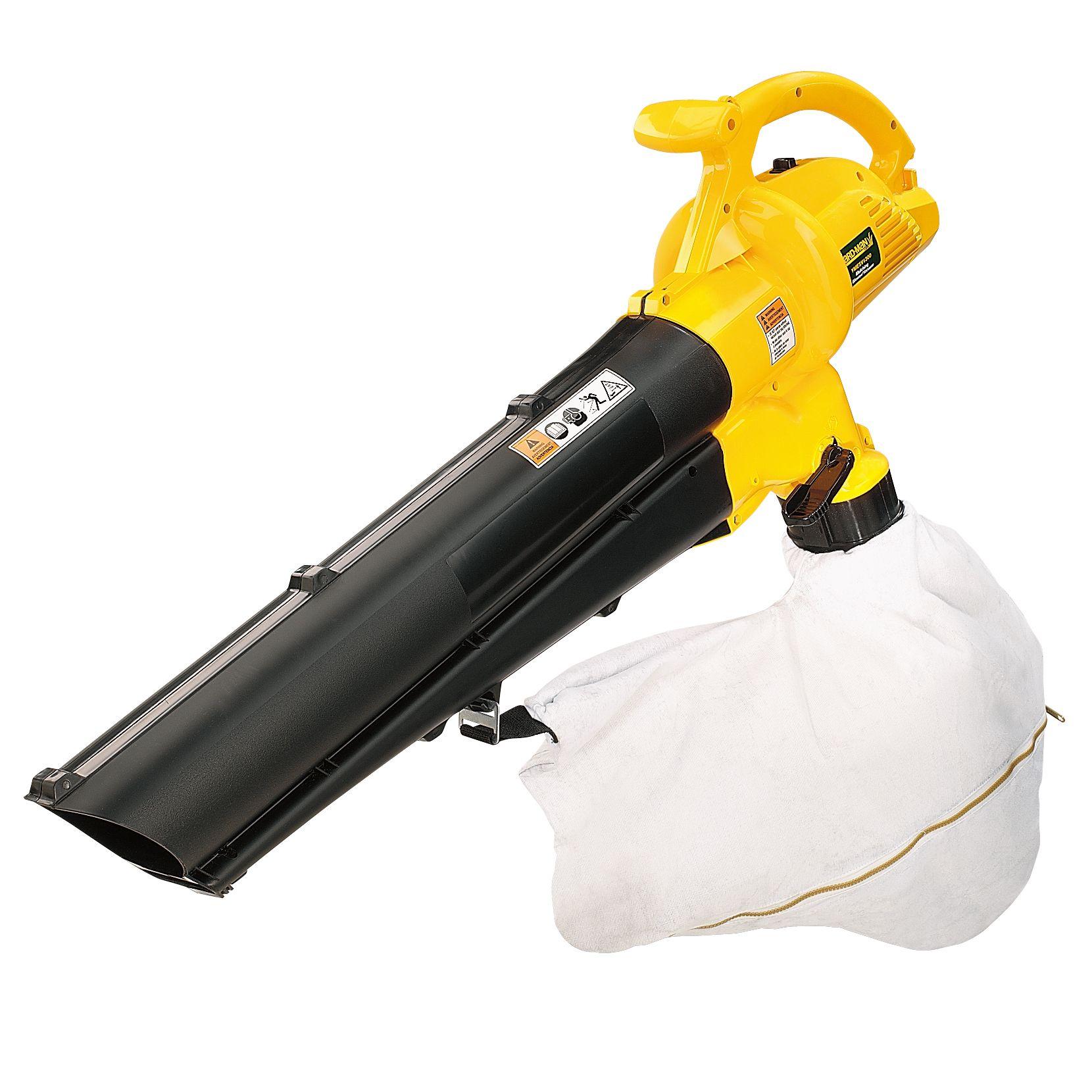 Gas Leaf Vacuum Shredder