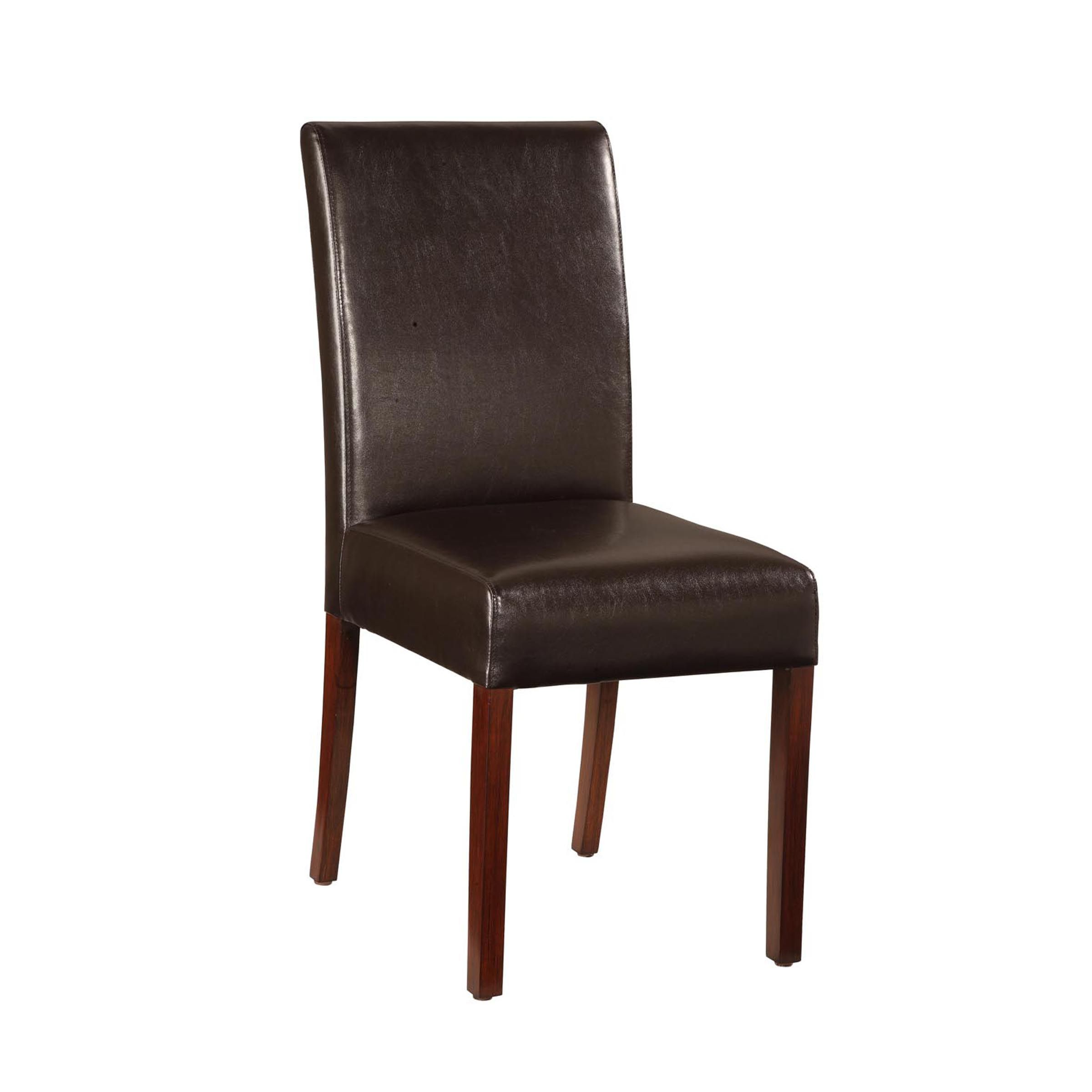 Kmart Dining Chairs Essential Home Faux Leather Parsons Chair