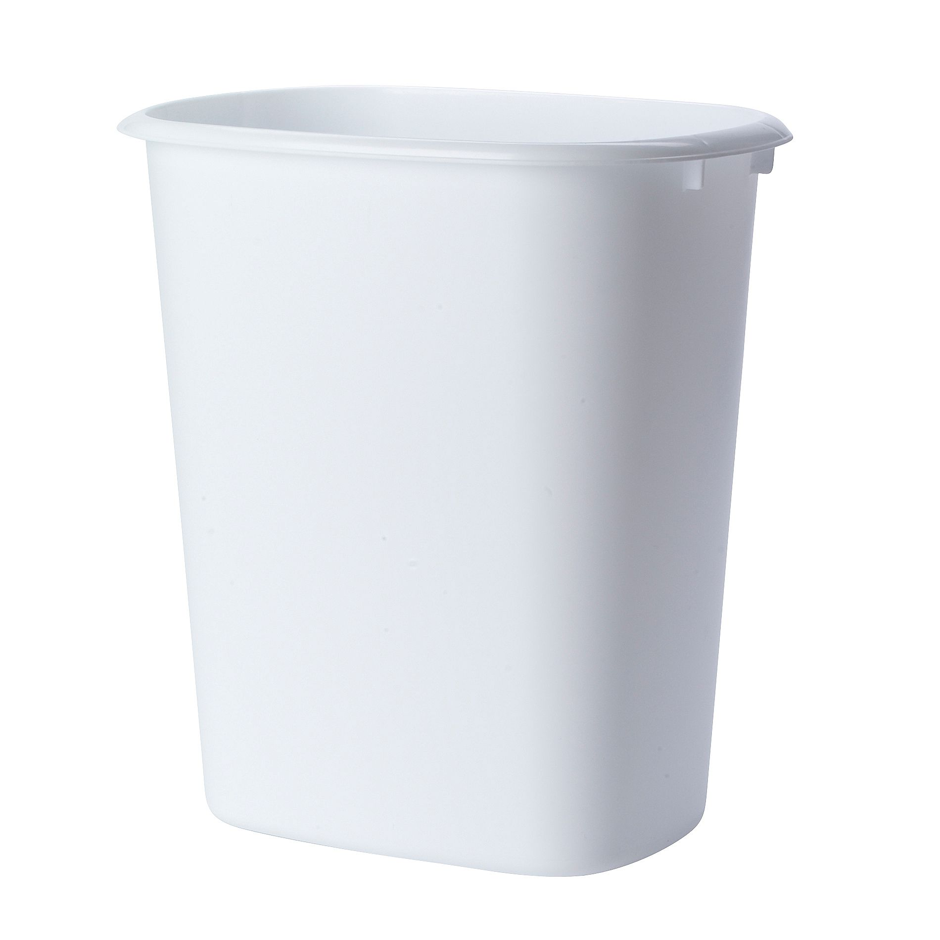 white kitchen trash can eat at island united solutions wastebasket 10 qts