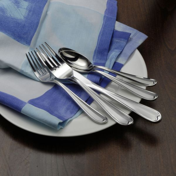 20 Piece Satin Sand Dune Flatware Set