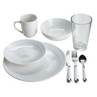 Essential Home 32 Piece Dinnerware Set