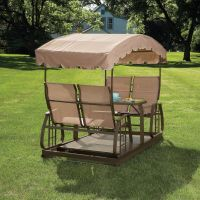 Garden Oasis - CG-7A200B - 4 Person Glider Swing | Sears ...