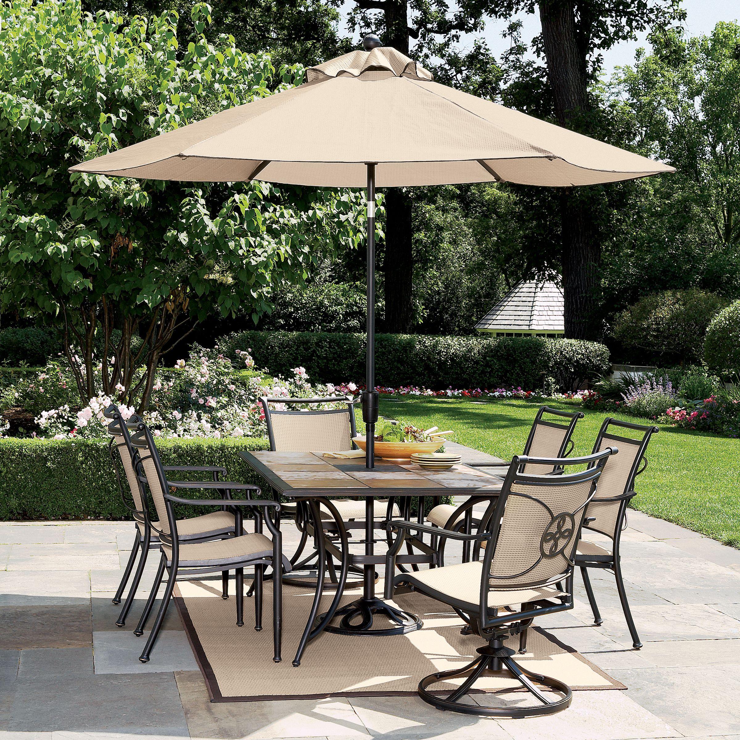 Garden Oasis - S50-449907-4064-3 River Stone 7 Pc