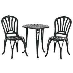 Bistro Table And Chairs Kmart Chair Covers For Sale Kijiji Garden Oasis Cast Iron Set Outdoor Living Patio