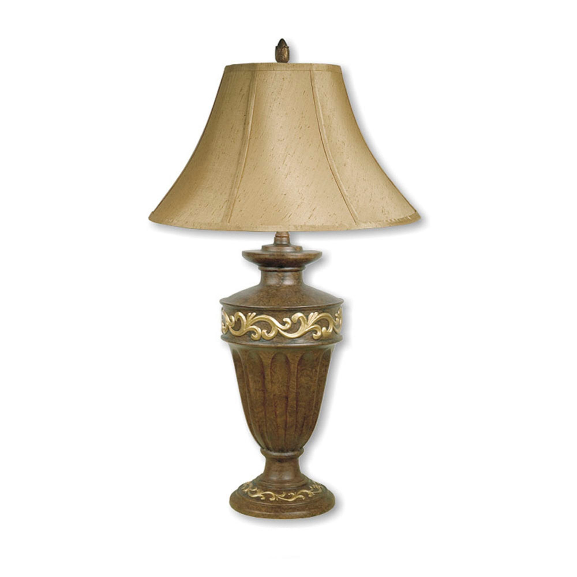 Table Lamp Antique Finish Luxurious Lighting Sears And