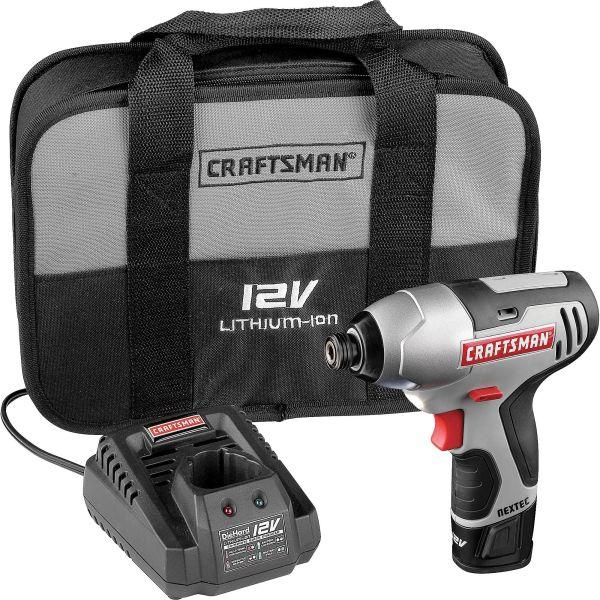 Craftsman 17428 Nextec 12-volt Cordless Compact 1/4 ...