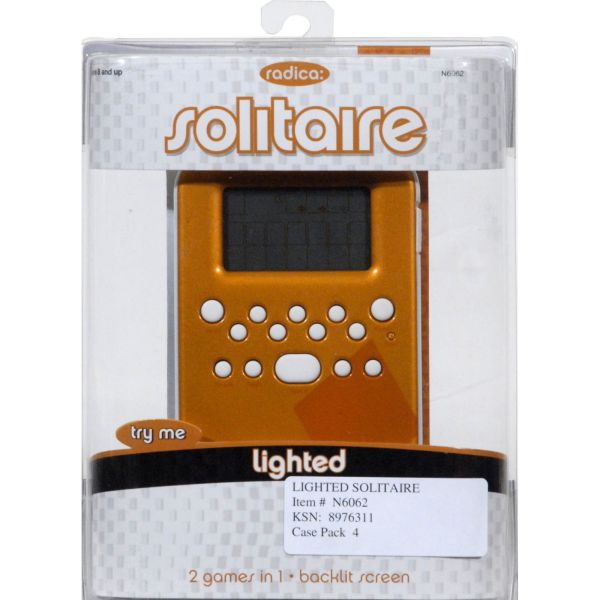 Radica Games 2 In1 Klondike Solitaire Handheld Game