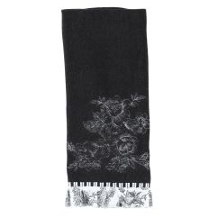 Terry Kitchen Towels Motion Faucet Jaclyn Smith Today Black And White Toile