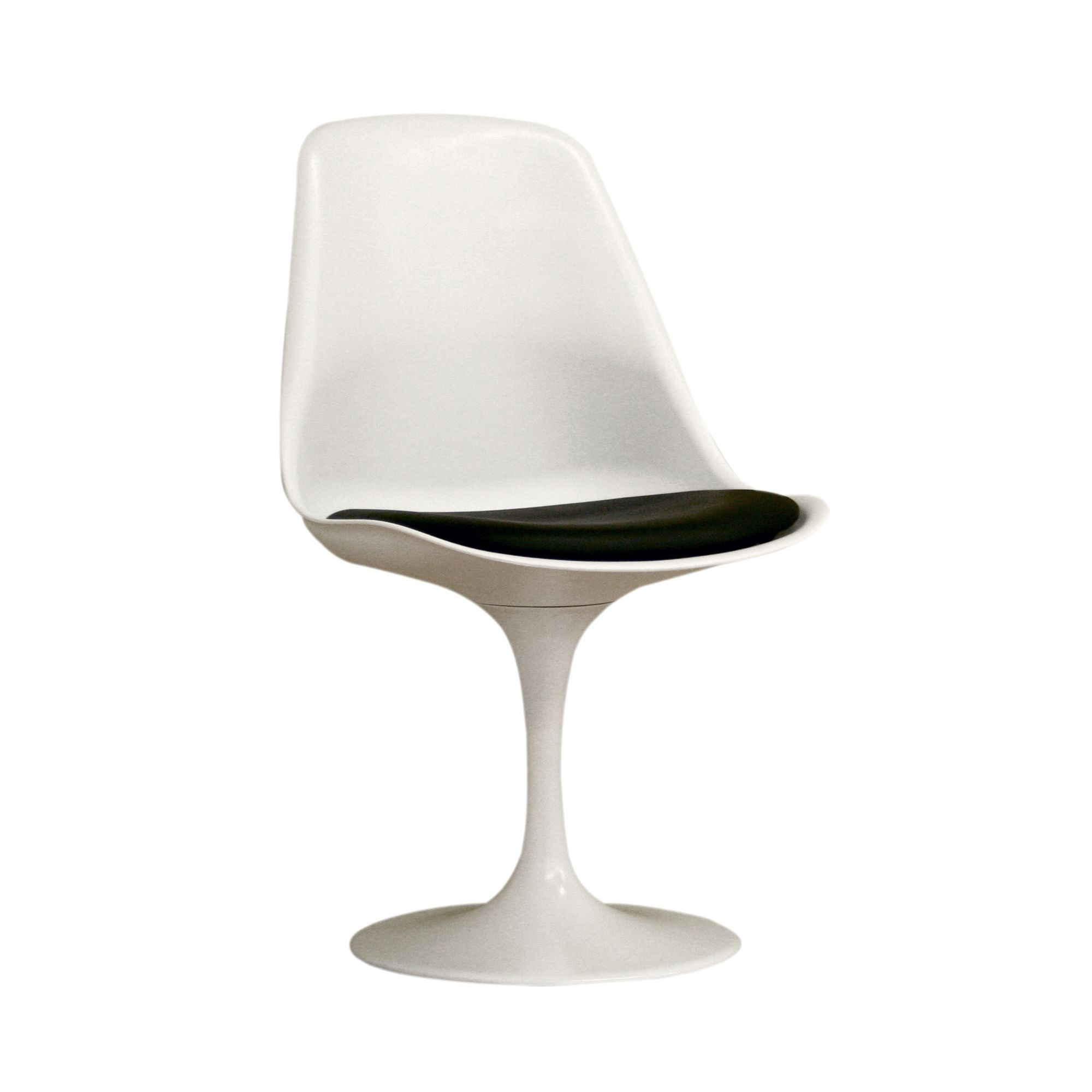 retro dining room chairs tufted leather baxton studio vinyl chair white