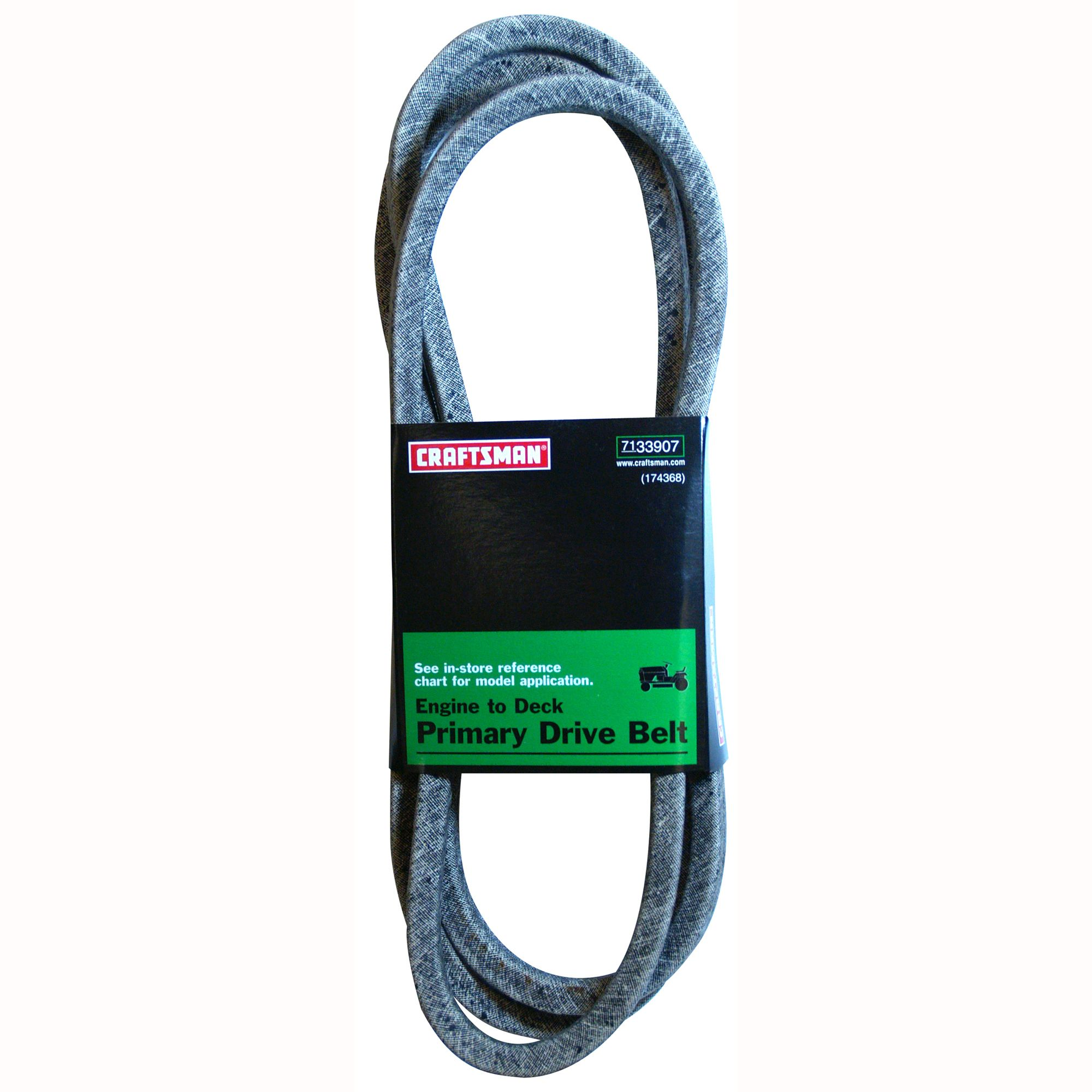craftsman 48 cut lawn tractor engine to deck primary drive belt [ 2000 x 2000 Pixel ]