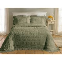 Country Living Chenille Sage Bedspread - Home - Bed & Bath ...